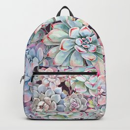 succulent garden 3 Backpack