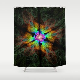 Polychroma Vent Shower Curtain