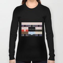 It's been a long road - Star Trek: Enterprise ENT - startrek Trektangle minimalist - trektangles Long Sleeve T-shirt