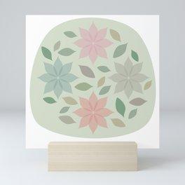 Flowers are blooming Mini Art Print