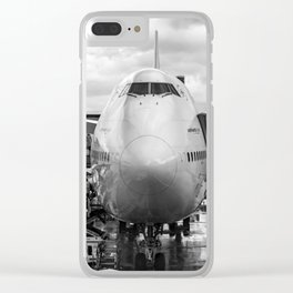 Prepare for Departure Clear iPhone Case