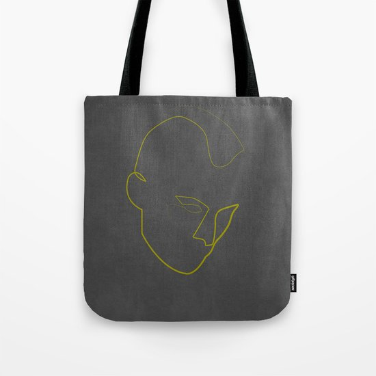 One Line Taxi Driver Tote Bag