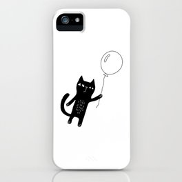 Flying Cat iPhone Case