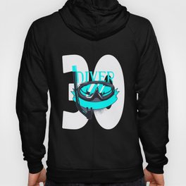 Scuba Diving 30th Birthday Diver 30 Years Gift Hoody