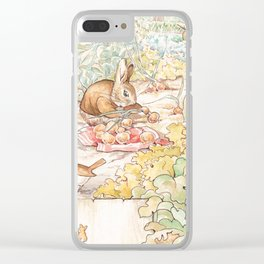 The World of Beatrix Potter illustration Clear iPhone Case