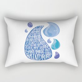 Saltwater Heart. [Switchfoot] Rectangular Pillow