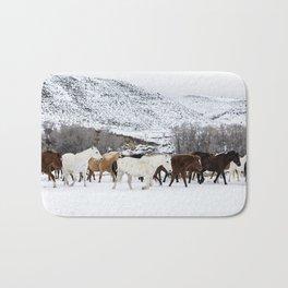 Carol Highsmith - Wild Horses Bath Mat