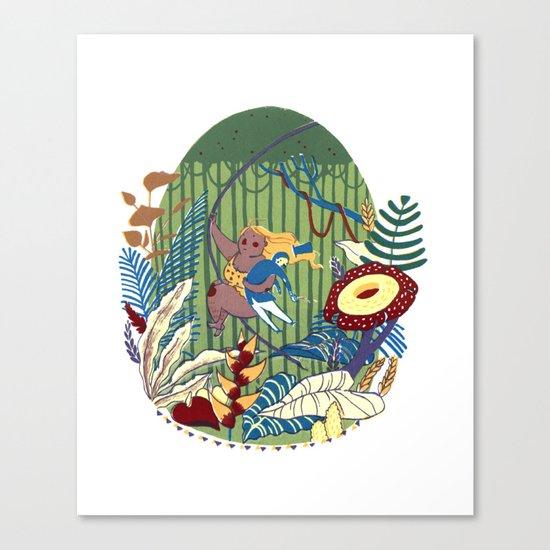 Tarzana and John Canvas Print