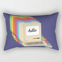 Macintosh Cascade Rectangular Pillow