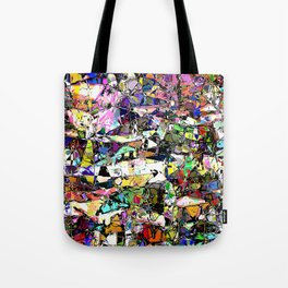 Chaos In Color Tote Bag