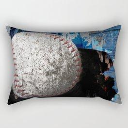 Baseball art variant 1 Rectangular Pillow