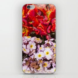 Flowers in town iPhone Skin