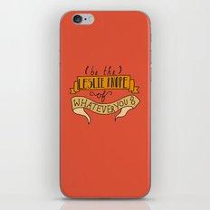 Leslie Knope iPhone & iPod Skin