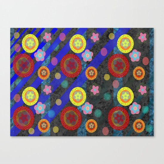 Buttons and Bobs Canvas Print
