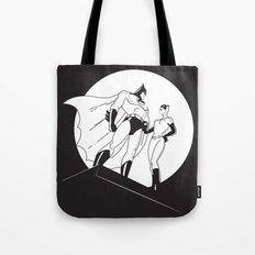 The Night is Dark Tote Bag