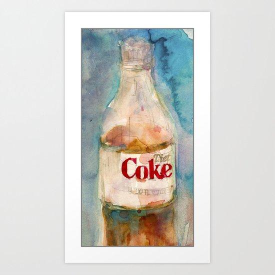 COKE IS IT Art Print