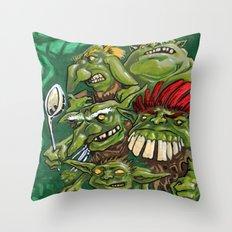 Goblin Pie Crew (v.1) Throw Pillow