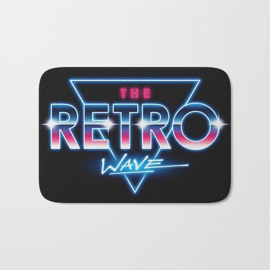 The Retro Wave Bath Mat