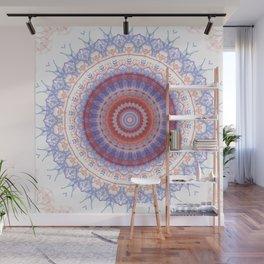 Lovely Lavendar Lace Mandala Wall Mural
