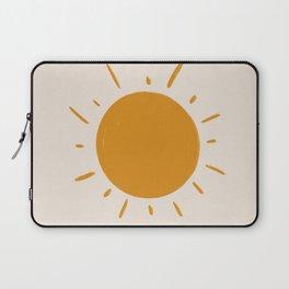 painted sun Laptop Sleeve