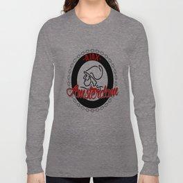 Ajax hooligan crest Long Sleeve T-shirt