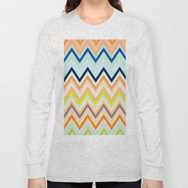 Colorful chevron Long Sleeve T-shirt