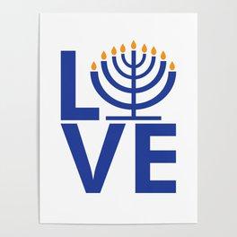 I Love Chanukkah Poster