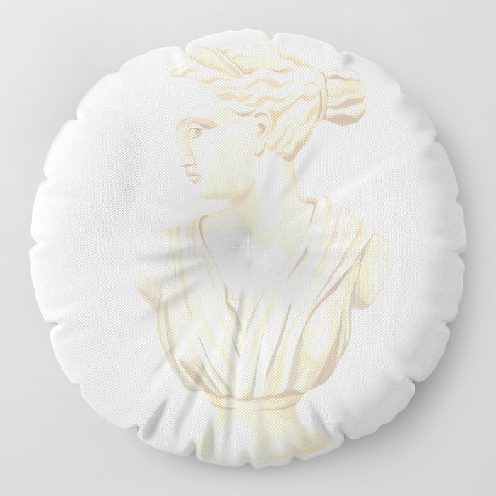 Goddess Diana Floor Pillow