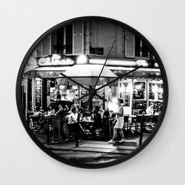 Le Chinon (Montmartre; Paris) Wall Clock