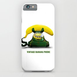 ORGANIC INVENTIONS SERIES: Vintage Banana Phone iPhone Case