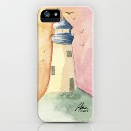 Lighthouse Impressions III iPhone Case