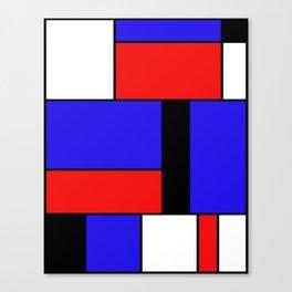 Mondrian #69 Canvas Print
