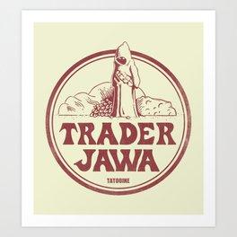Trader Jawa Art Print