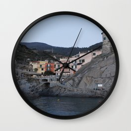 Manarola. Wall Clock