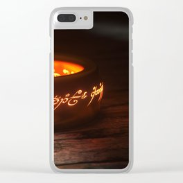 Rule Them All Clear iPhone Case