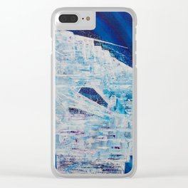 Spaceship Clear iPhone Case