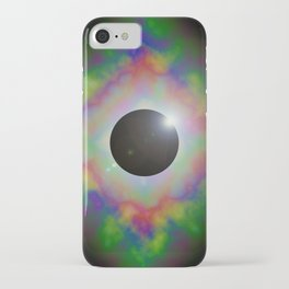 Eclipsed Eye iPhone Case