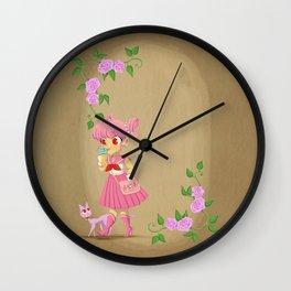 Retro Sailor Chibi Moon Wall Clock