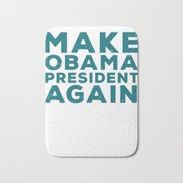 Make Obama President Again Baller Graphic Bath Mat