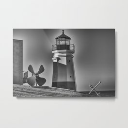 Lighthouse Vermilion, Ohio Metal Print