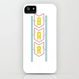 Bar iPhone Case