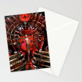 Technological Crucifixion Stationery Cards