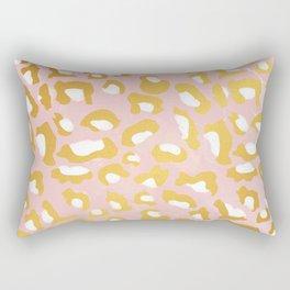 Abstract leopard pattern Rectangular Pillow