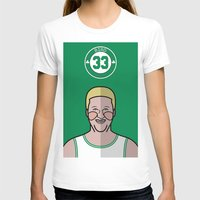 larry T-shirts featuring Larry Bird by Will Wild