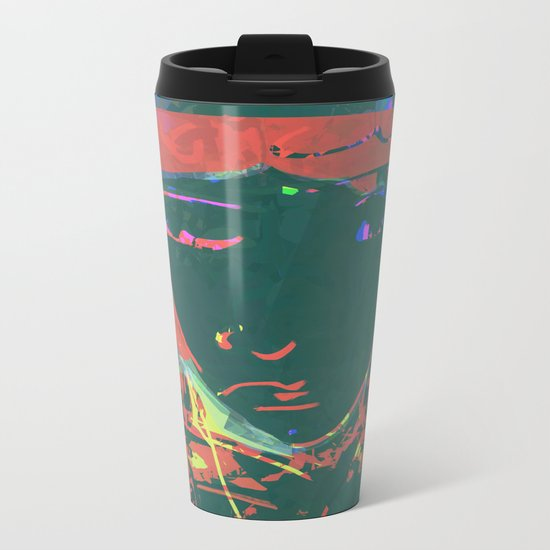 Moon Child Metal Travel Mug
