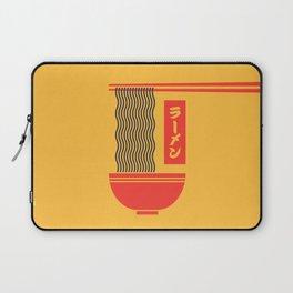 Ramen Japanese Food Noodle Bowl Chopsticks - Yellow Laptop Sleeve