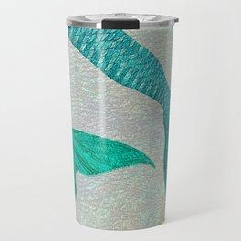 Glistening Mermaid Tails Travel Mug