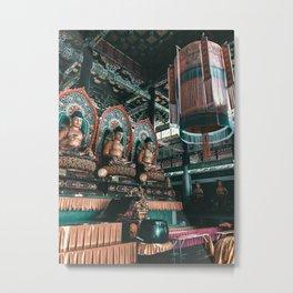 Asian Temple Travel Photography Metal Print
