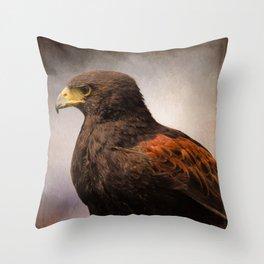 Meaningful - Wildlife Art Throw Pillow