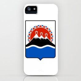 coat of arms of Kamchatka iPhone Case